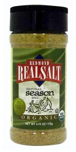Real Salt Organic Seasoning Salt $5.99 - from Well.ca