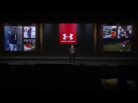 Under Armour Keynote - Kevin Plank, Founder and CEO of Under Armour speaks about the innovation that brings a sports company to CES.