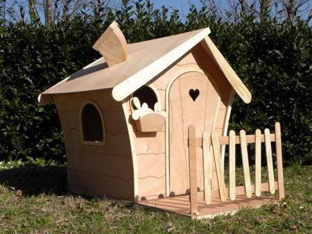 Casette in legno abitabili da giardino per bambini, alcuni modelli a ...