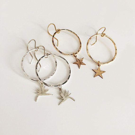 Earrings Lulu Bird Of Paradise Earrings Hawaiian Flower Earrings E499