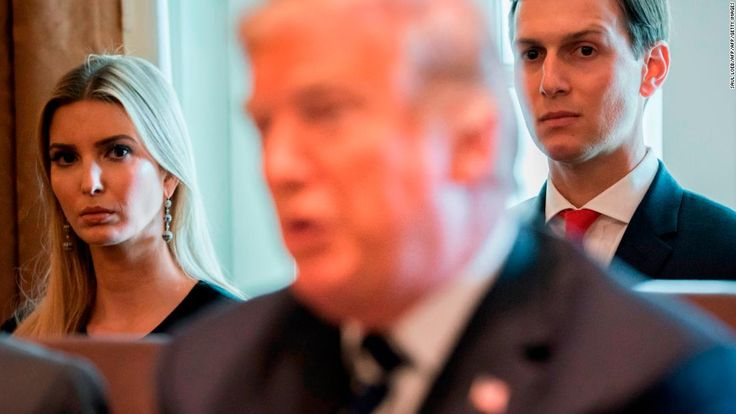 President Donald Trump is asking chief of staff John Kelly for help in pushing his daughter and son-in-law out of the White House, The New York Times reports.