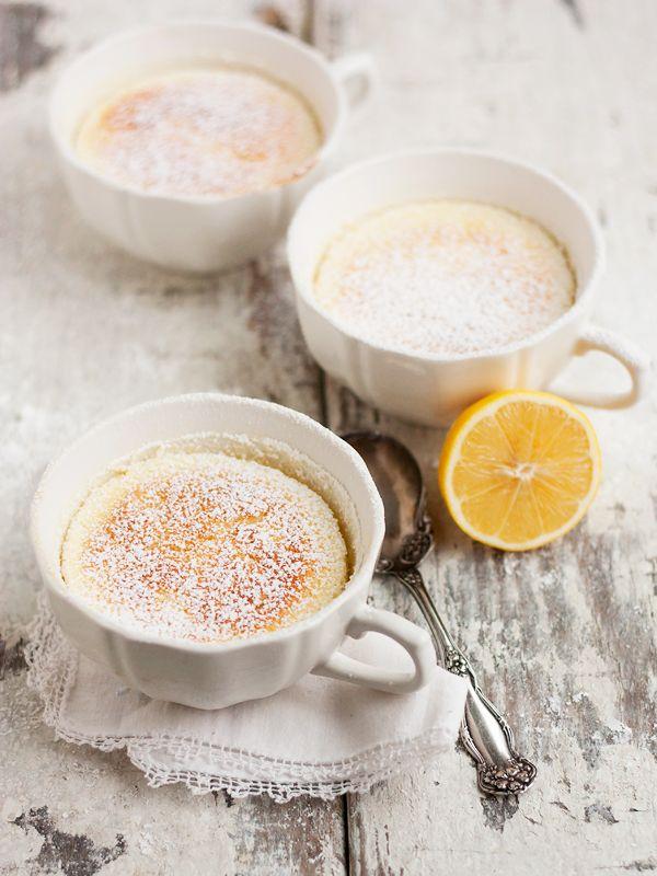 Warm Lemon Pudding Cake Image Via: Seasons and Suppers