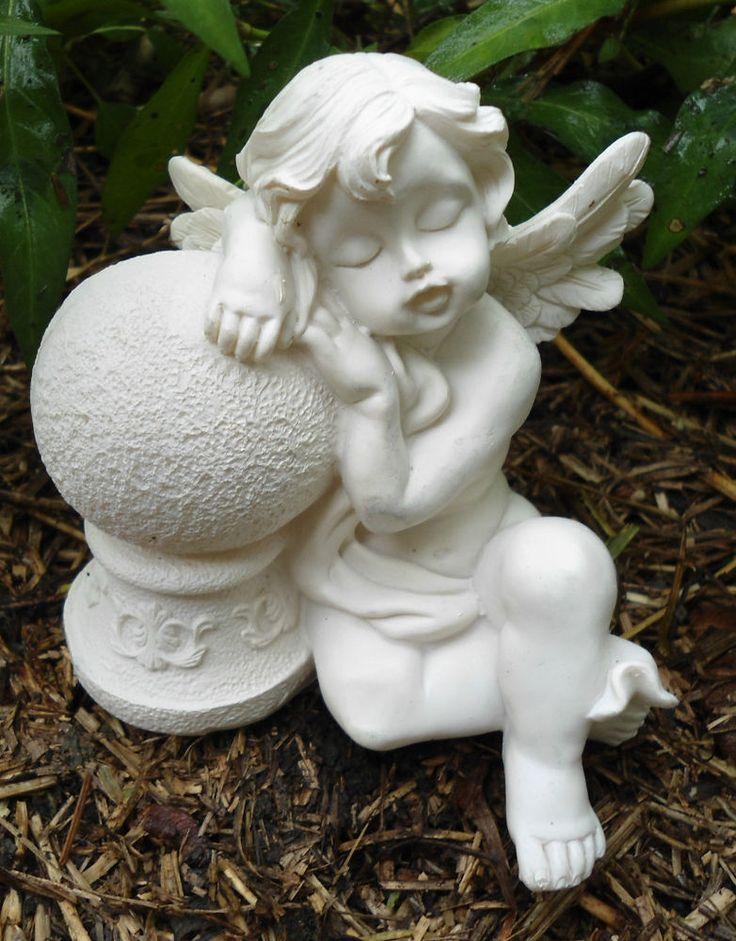 Angel Plastic Mold Concrete Plaster Garden Mould | Gardens ...