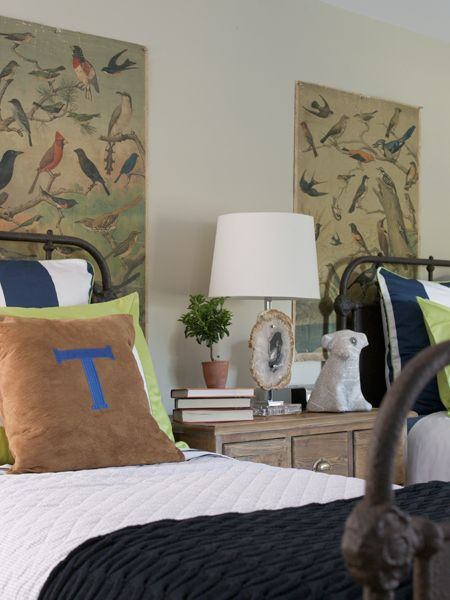 Eclectic twin; Shared room by Orrick and Company