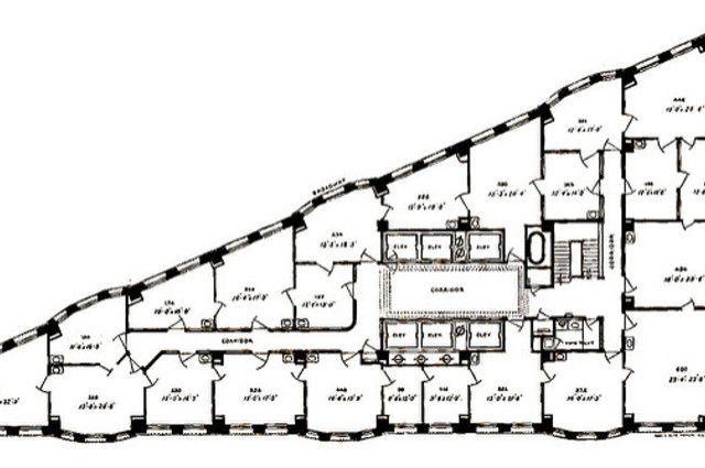 Flat Iron Building Floor Plan