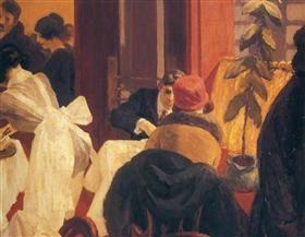 New York Restaurant - Edward Hopper