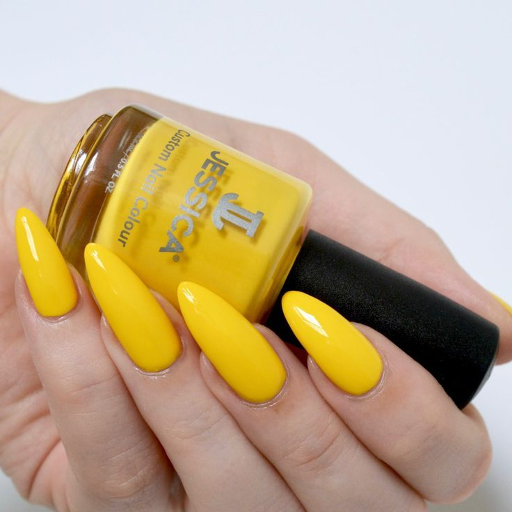 72 best Yellow Nails images on Pinterest   Belle nails, Cute nails ...