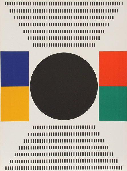 "nrlouffuer: "" Kumi Sugai, Japanese (1919 - 1996) 1970 Silkscreen """
