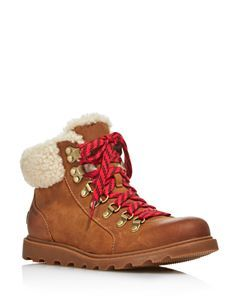 63e1f5b79d8 Women's Sneakchic Alpine Holiday Shearling Waterproof Cold-Weather Boots |  The Great Outdoors | Hiking boots, Leather hiking boots, Hiking boots women