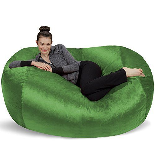 The Sofa Sack 6 ft. lounger is the perfect piece for roomy lounging. This specific product can fit two large adults and offers the ability to stretch out on like a couch. We know you'll love the immense lounging space this product has to offer- its size has made it a top choice for family rooms a... more details available at https://furniture.bestselleroutlets.com/game-recreation-room-furniture/bean-bags/product-review-for-sofa-sack-bean-bags6-large-bean-bag-lounger-lime/