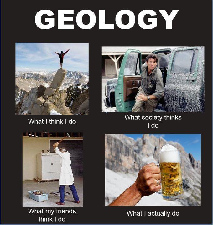 Haha Very Funny Meme : Haha so funny geology student meme randomness