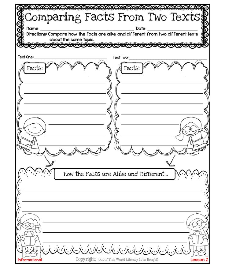 http://www.teacherspayteachers.com/Product/FreebieCompare-Facts-From-Two-Nonfiction-Texts-1125763