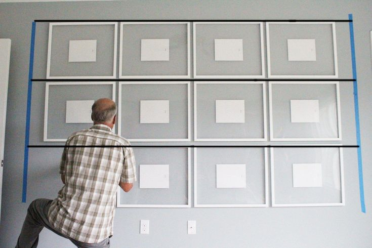How To Hang A Perfectly Straight Gallery Wall