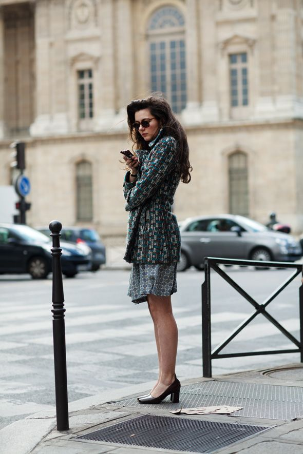 if only i appeared this polished always: Thesartorialist, Retro Hair, Boys Style, Mixed Patterns, Long Hair, Street Style, The Sartorialist, Patterns Mixed, Paris Style