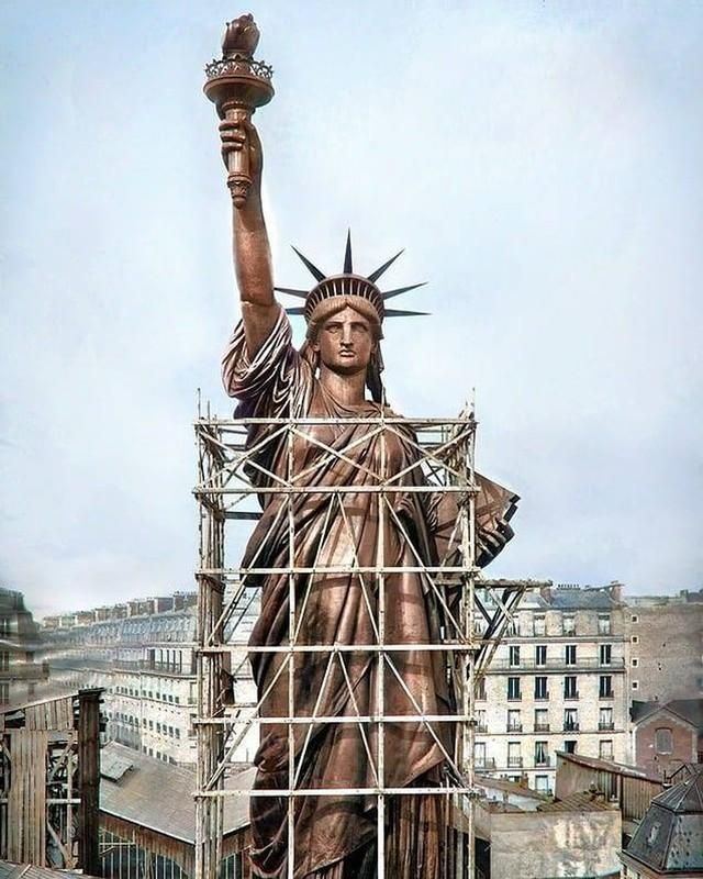 Pin By Bob Free On Interesting Stuff Rare Historical Photos Historical Photos Statue Of Liberty