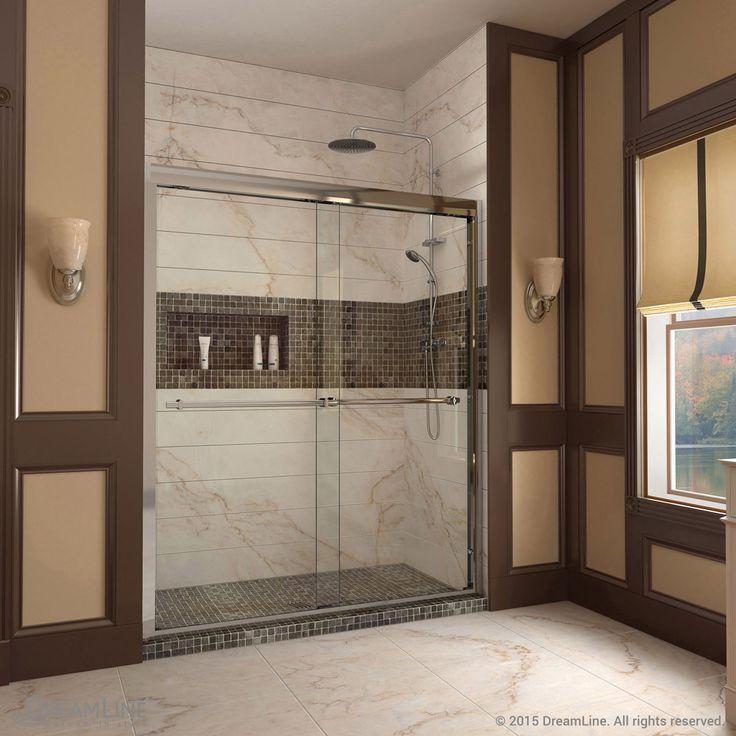 Duet Bypass Sliding Shower Door