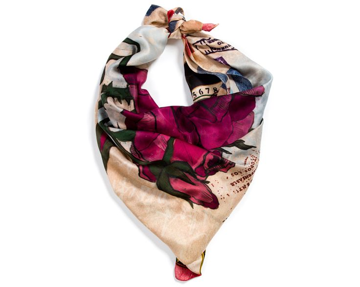 """Alpha Gypsy scarf """"The Gypsy Post"""" has been feather in Color Me Nana colorful post the week. The post pics were taken a Chinese New years Parade, Super festive! Happy & Lucky Horse year! http://colormenana.blogspot.com/2014/02/chinese-new-year-colors.html  #AlphaGypsy #TheGypsyPost #SilkScarf #Scarves #Scarf #ColorfulScarf  www.alphagypsy.com"""