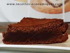 Gateau type brownie au nutella (thermomix)