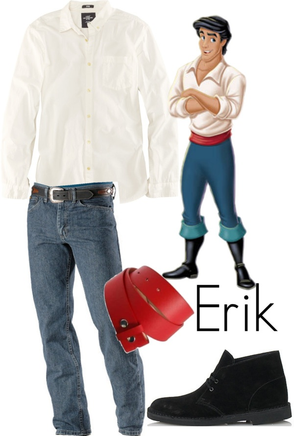 Prince Eric outfit for Franklin MNSSHP