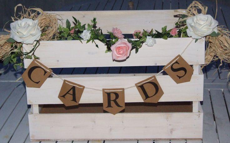 Wedding Card Post Box Crate