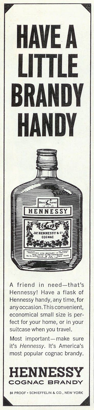 Sell Me Yesteryear: Hennessy Brandy