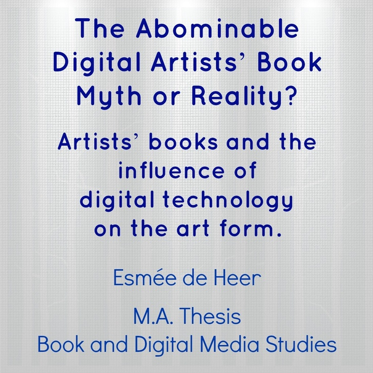 thesis about art education The gift of the magi essay masters of art education thesis dissertation wzl rwth aachen writing a research proposal for masters.