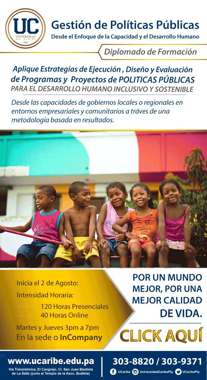 Unicaribe, diplomado en políticas públicas.