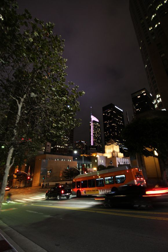 Night In Los Angeles Photo Flexibility Training National Geographic Photos