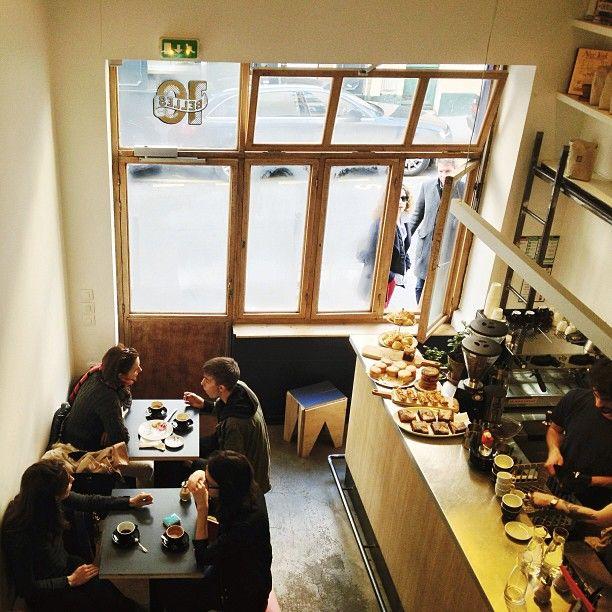 Ten Belles café in Paris / photo by Alice Gao