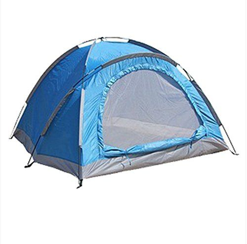 Generic Lightweight Large 3 Person Tent Blue -- Read more reviews of the product by visiting the link on the image.