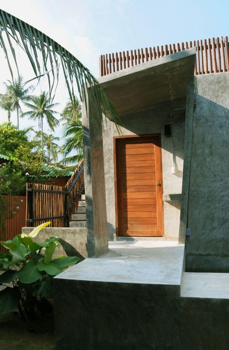 Cohen residence entry courtyard modern landscape houston by rh - Phagan House By Npda Studio