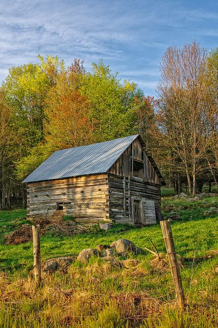Early Morning along the Opeongo. Old barn found along the Opeongo Road up in Renfrew county. Canada. Photo by Tim Lofft.                                   View all sizesView slideshow ...