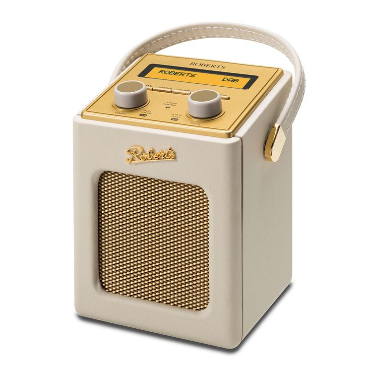 BuyROBERTS Revival Mini DAB/FM Digital Radio, Cream Online at johnlewis.com