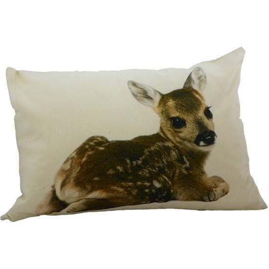 Sierkussen Bambi. 50x35cm €18,00