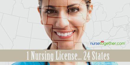 List of #Nurse License Compact States