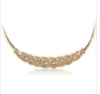 Luxo cn46 perfuração checa elegante valsa feminina curta clavícula cadeia colar y330-5 50d