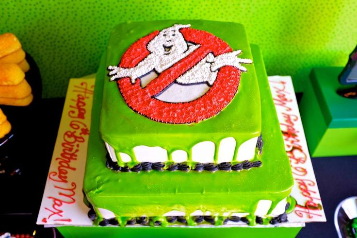 Ghostbusters Birthday Party Ideas   Photo 3 of 89   Catch My Party