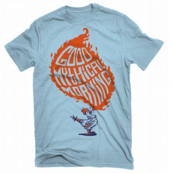 Seths birthday present!  Rhett and Link  Good Mythical Morning shirt