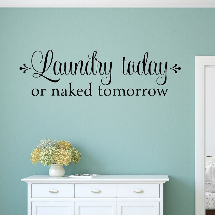 Best Laundry Room Decals Ideas On Pinterest Laundry Room - Vinyl decals for walls etsy