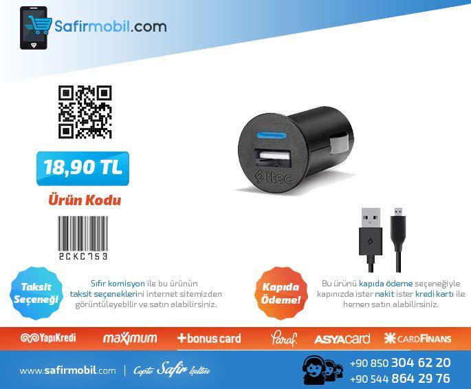 Micro USB Compact Oto Şarj Aleti Siyah - Ttec  Ürüne Gitmek için Tıklayınız--►https://goo.gl/i0KWYj  #usb #şarjaleti #ttec #cepaksesuar #safirmobil