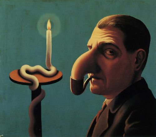 """""""La Lampe Philosophique"""" (1936) René Magritte"""