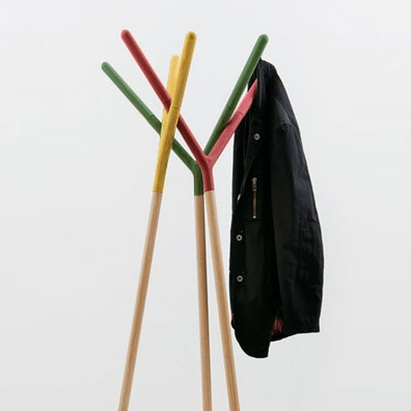 Game of Trust Wooden Coatrack by Miniforms | MONOQI