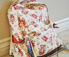 Floral Backpack. Love♥