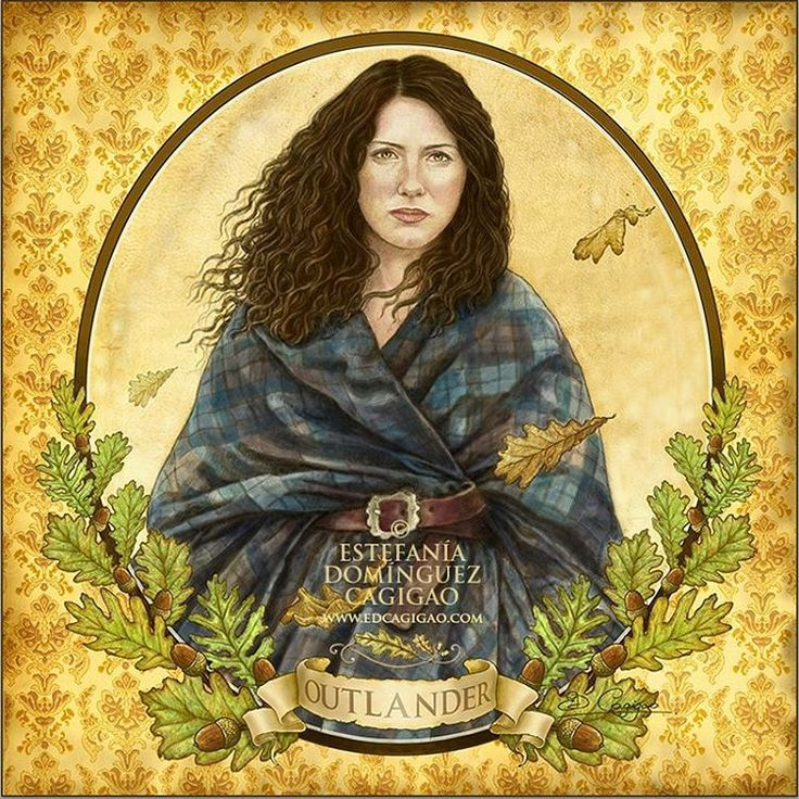 "✤""Claire con arisaid"", lápiz y digital, 2016. Fan art de ""Outlander"", la serie producida por Starz y basada en los libros de Diana Gabaldon. .................... ✤""Claire con arisaid"", lápiz e dixital, 2016. Fan art de ""Outlander"", a serie producida por Starz e baseada nos libros de Diana Gabaldon. .................... ✤""Claire in arisaid"", pencil and digital technique, 2016. Fan art of ""Outlander"", series produced by Starz and based on the books of Diana Gabaldon. .................... ©…"