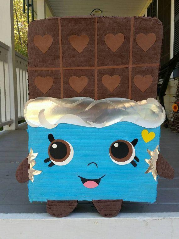 Cheeky chocolate shopkins inspired pinata shopkins by LaAranita