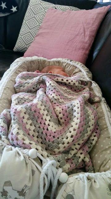 Granny baby blanket - blog in Norwegian