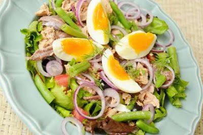 receitas fernandes: receita de salada niçoise