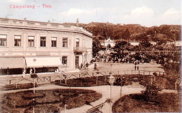 Campulung - Hotel Gradisteanu - 1915