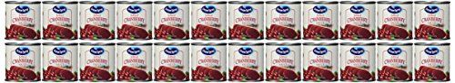 Ocean Spray Cranberry Sauce, 8 OZ (Pack of 24) ** Instant discounts available  : Baking Desserts recipes