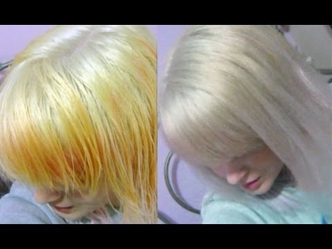 ▶ Wella White Lady Toner | Before and After + Demonstration - YouTube